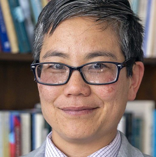 Amy Sueyoshi, dean of the College of Ethnic Studies