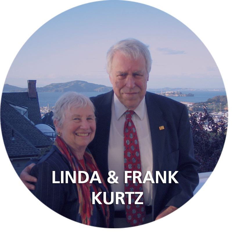 Frank & Linda Kurtz on their roof