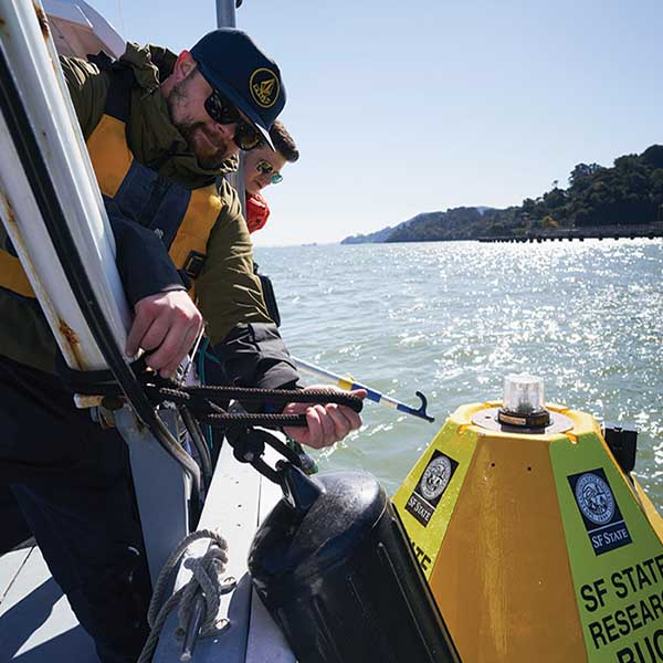 SF State Scientists researching on San Francisco Bay