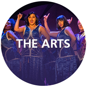 the arts circle icon