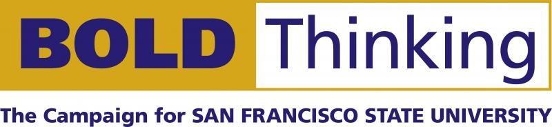 Logo - Bold. Thinking. The Campaign for San Francisco State