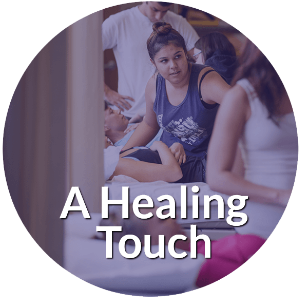 SF State University a healing touch circle