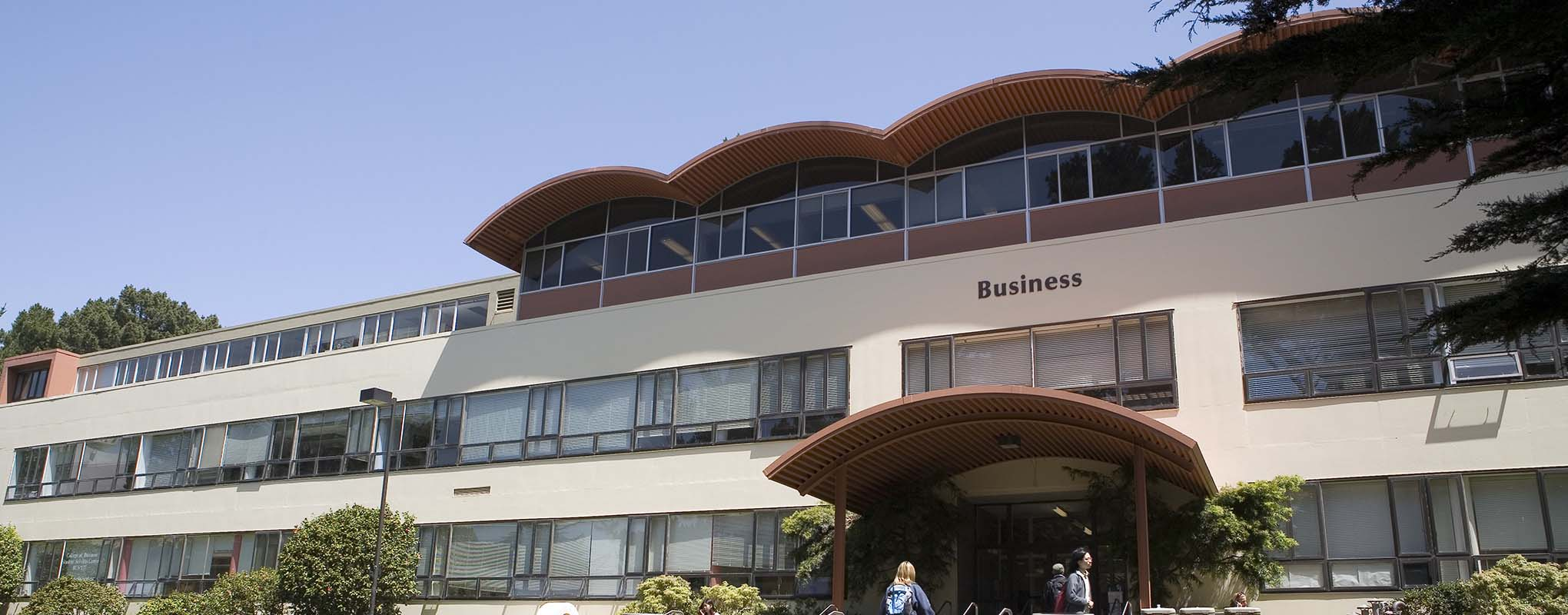 The Business Building at San Francisco State University