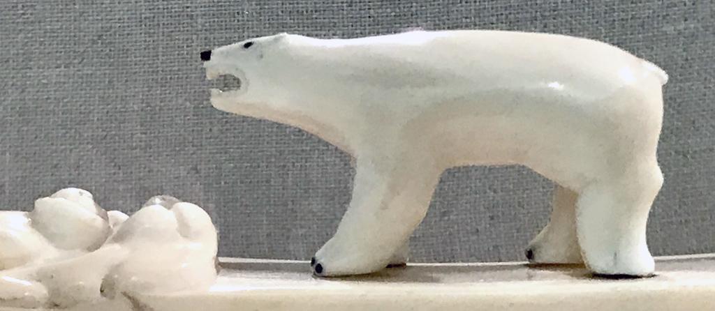Indigenous Carving of Polar Bear