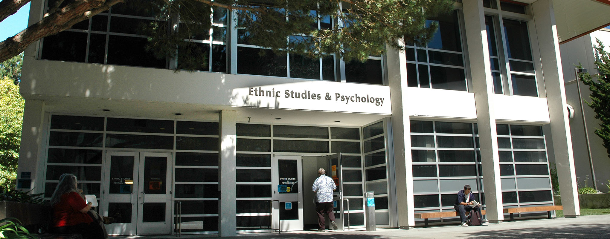The Ethnic Studies building at San Francisco State University