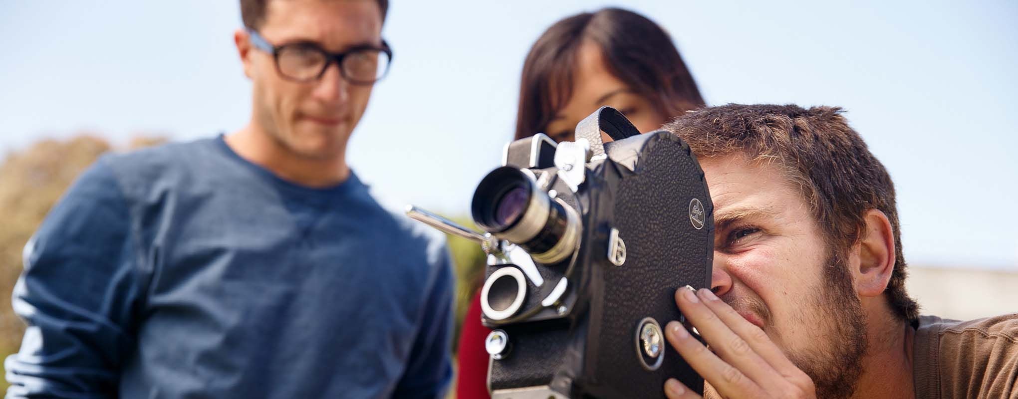 Documentary makers at San Francisco State University