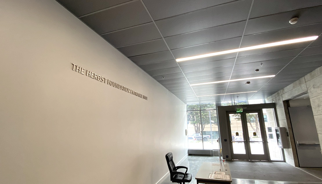 The Herbst Foundation Entrance Hall in Marcus Hall San Francisco State University