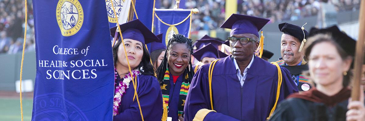 HSS graduates at commencement