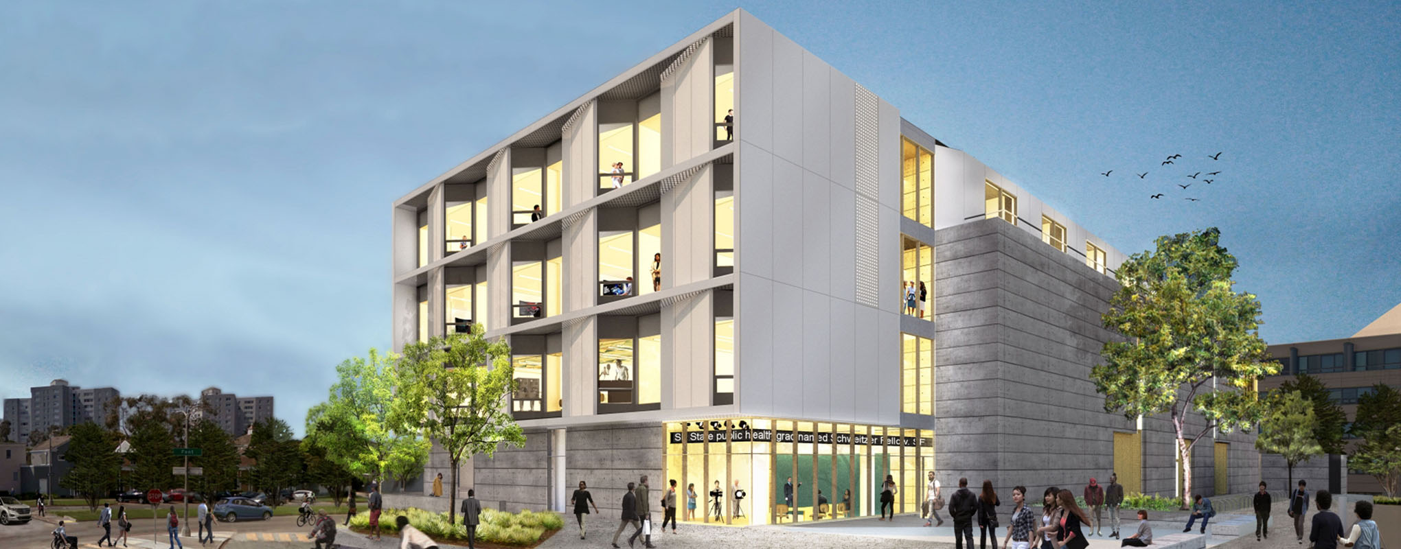 Liberal and Creative Arts Building Rendering