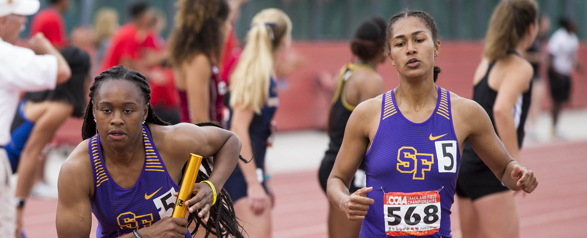 Female SF State Relay Race Runners