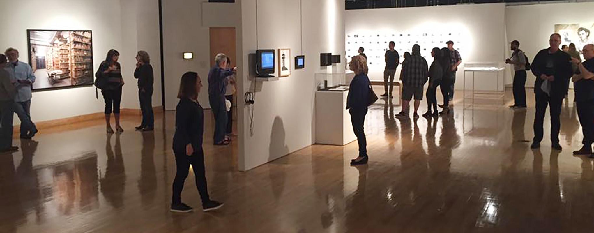 Gallery Opening in Fine Arts Gallery
