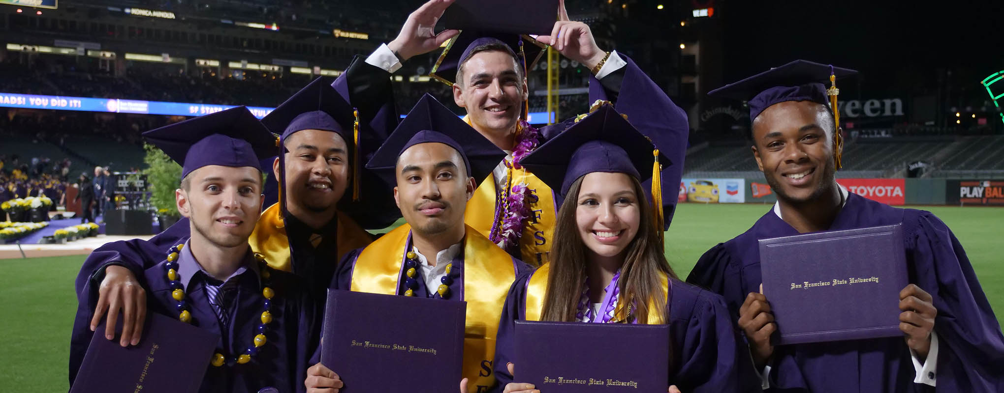 Students at SF State Graduation
