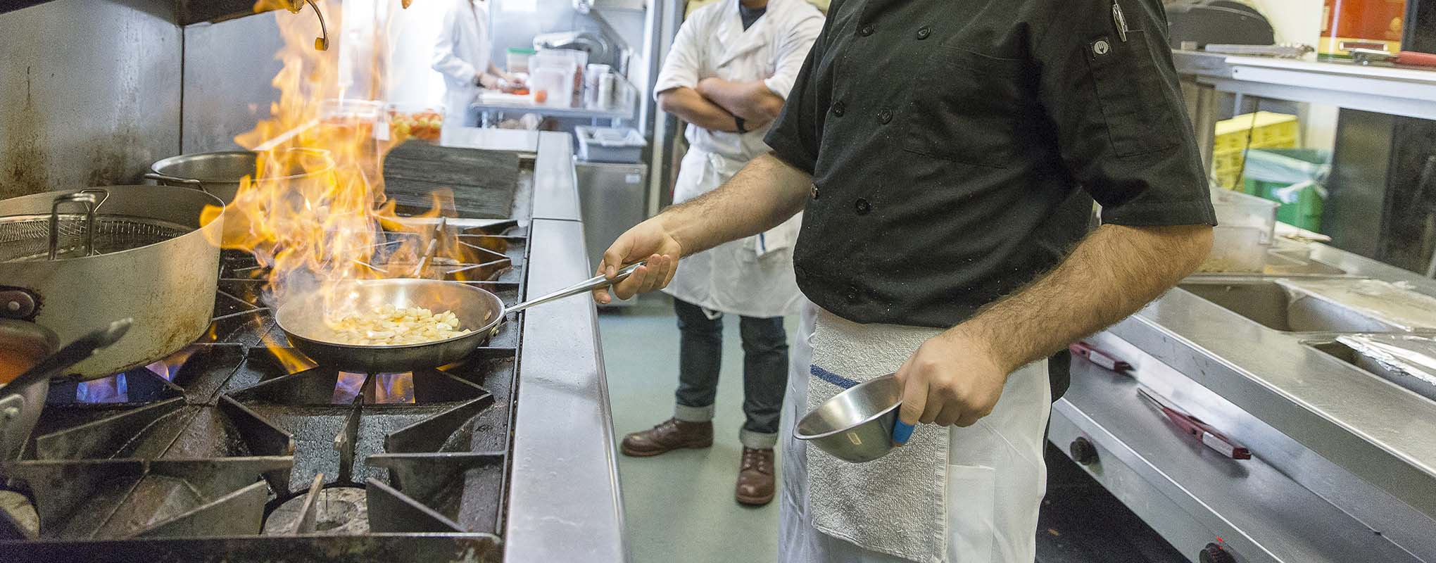 Cooking at San Francisco State University
