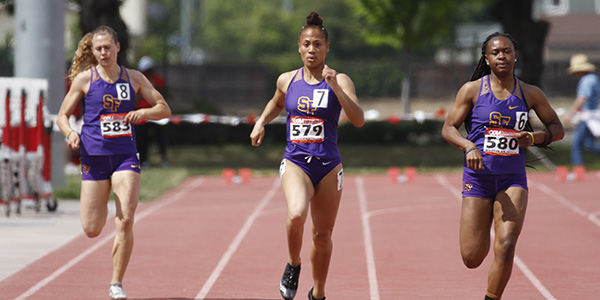 SF State Runners on track