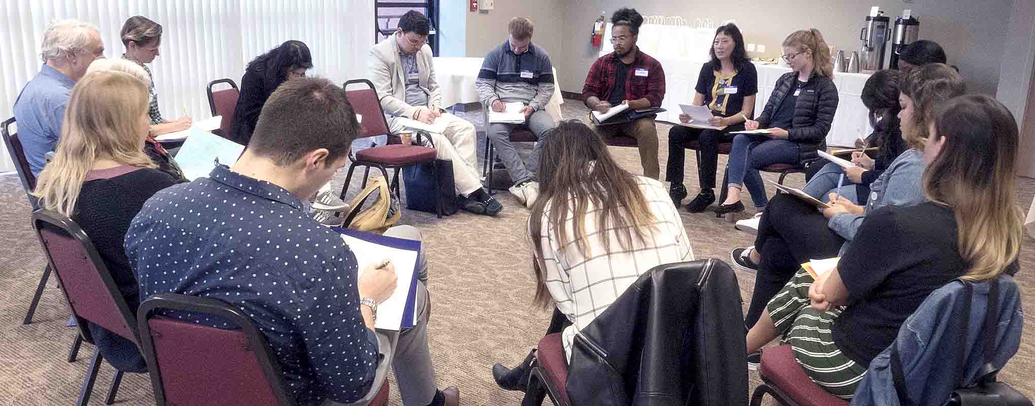 Participants of the Conflict Workshop