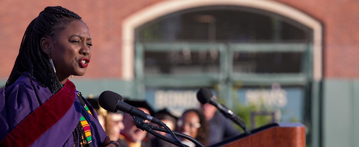 Alicia Garza Speaks at SFSU '17 Commencement
