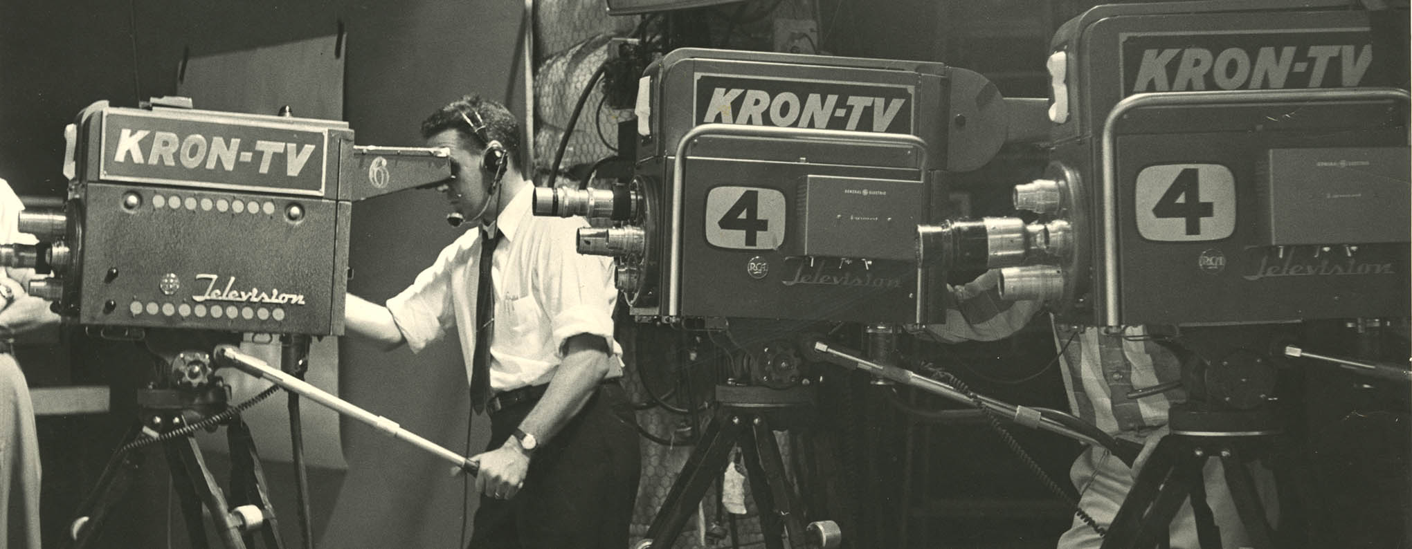 kron-tv cameras and operators from the 1960s