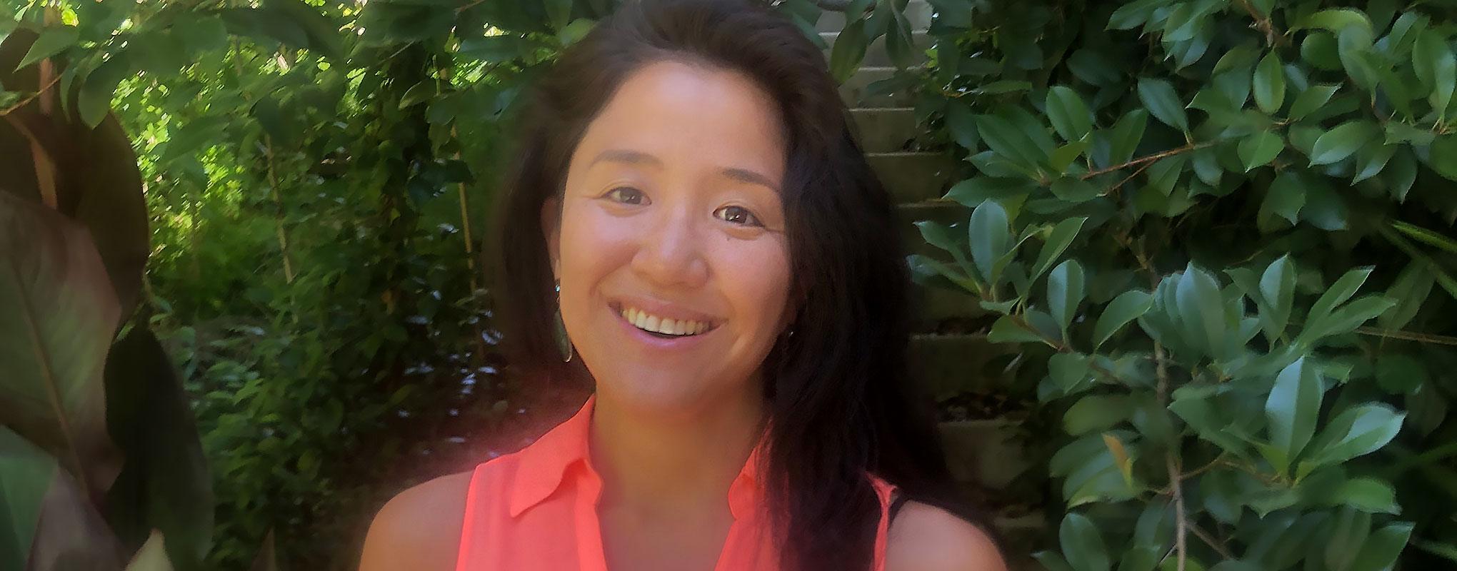 San Francisco State University grad student Yuri Madenokoji