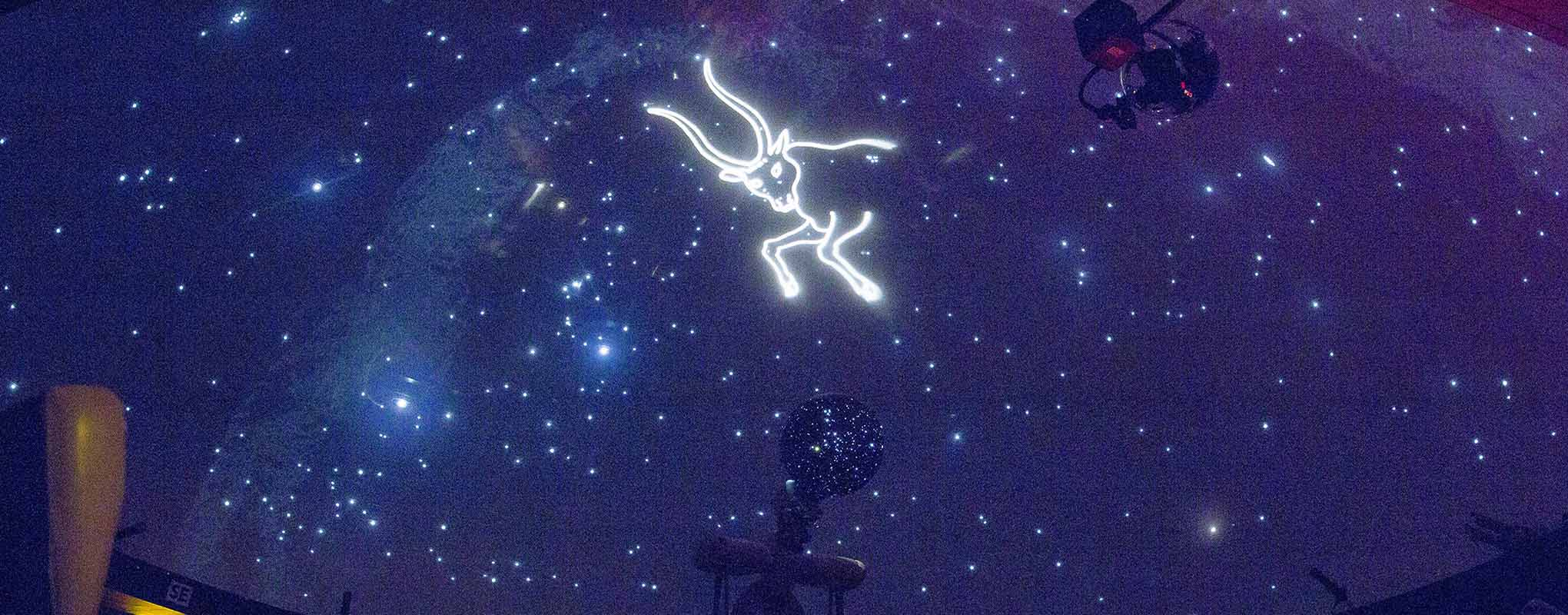 SFSU Planetarium projecting taurus