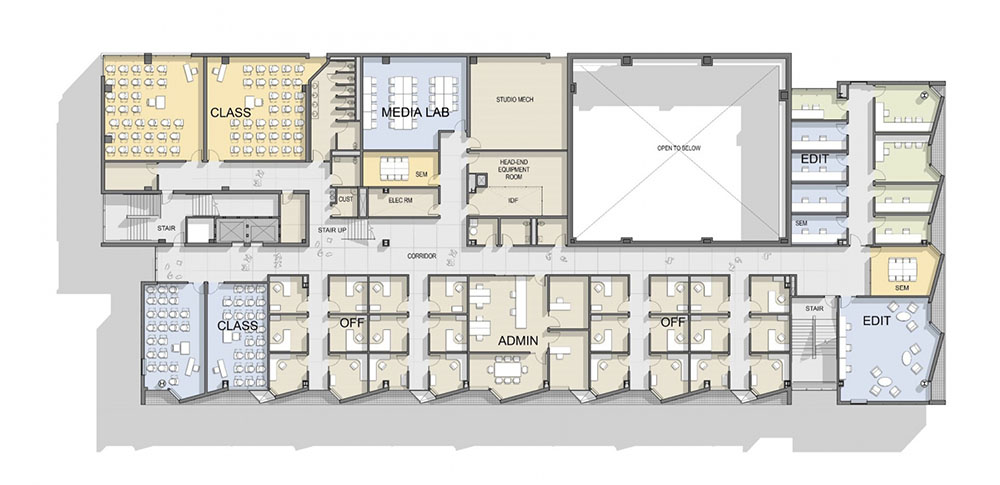 Floor Plan, Level 3 render